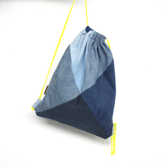 bridge&tunnel denim design hamburg upcycling rucksack backpack jeans