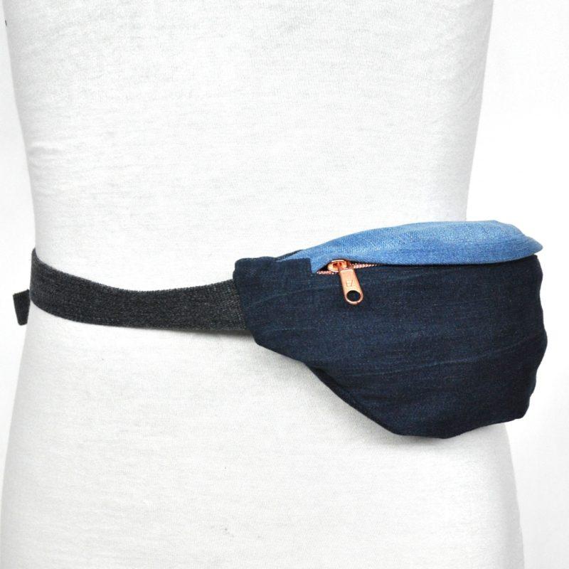 bridge&tunnel denim design hamburg upcycling hipbag gürteltasche jeans