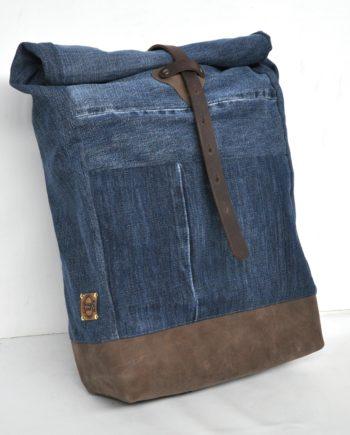 bridge&tunnel denim design hamburg upcycling rucksack backpack jeans