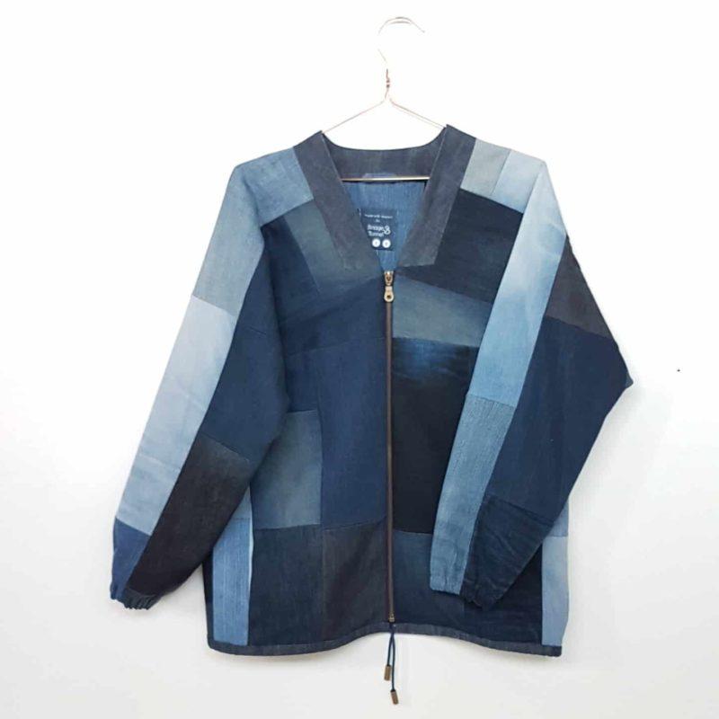Jeans Upcycling Denim Blouson