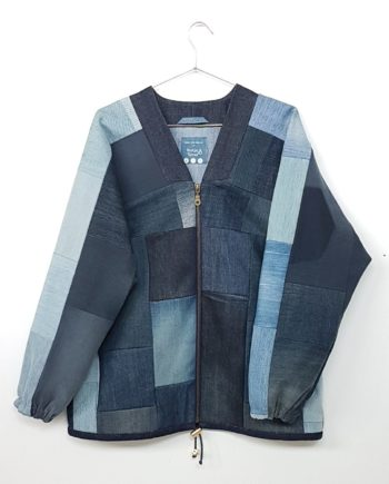 Jeans Upcycling Denim Blouson