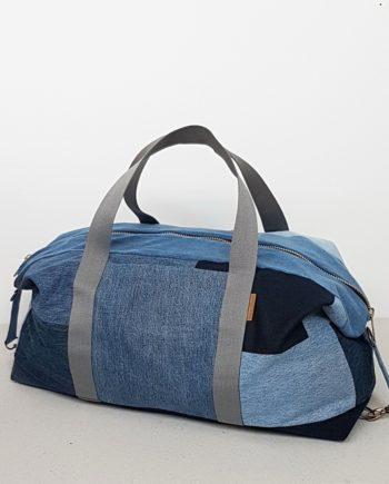 Jeans Upcycling Denim Weekender
