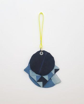 Handtasche Handschlaufe dreiteilig 3 in 1 Träger Handgelenk Clutch handbag Denim Jeans Patchwork Mosaik