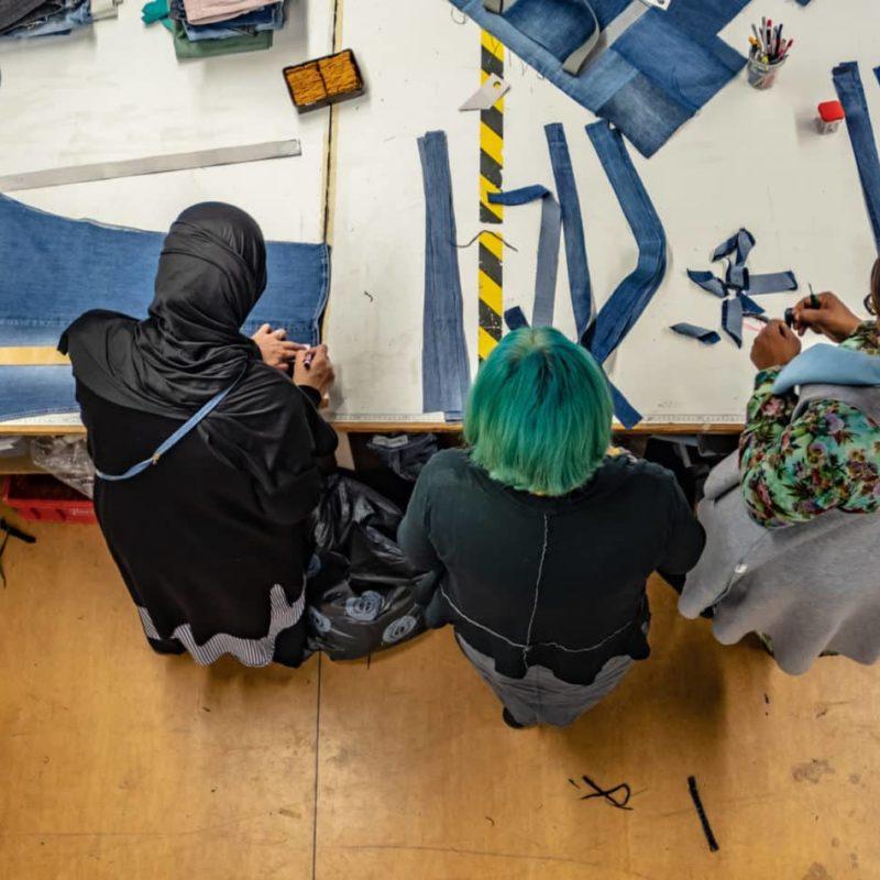 Bridge&Tunnel Team Arbeit Werkstatt Fair Fashion