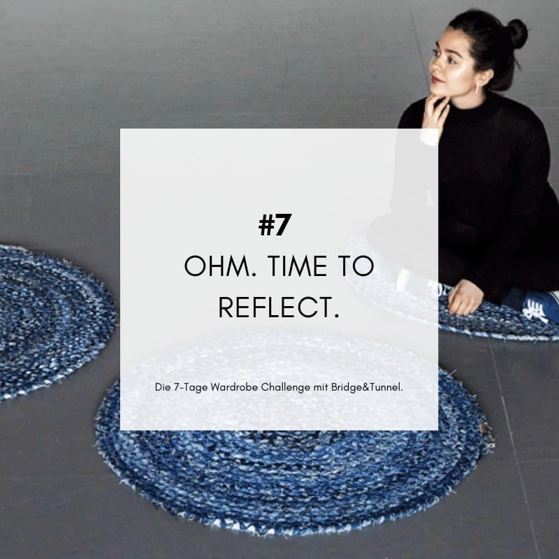 Wardrobe Challenge Bridge&Tunnel Fashion Revolution Minimalismus Reduzieren ausmisten Capsule Wardrobe Challenge