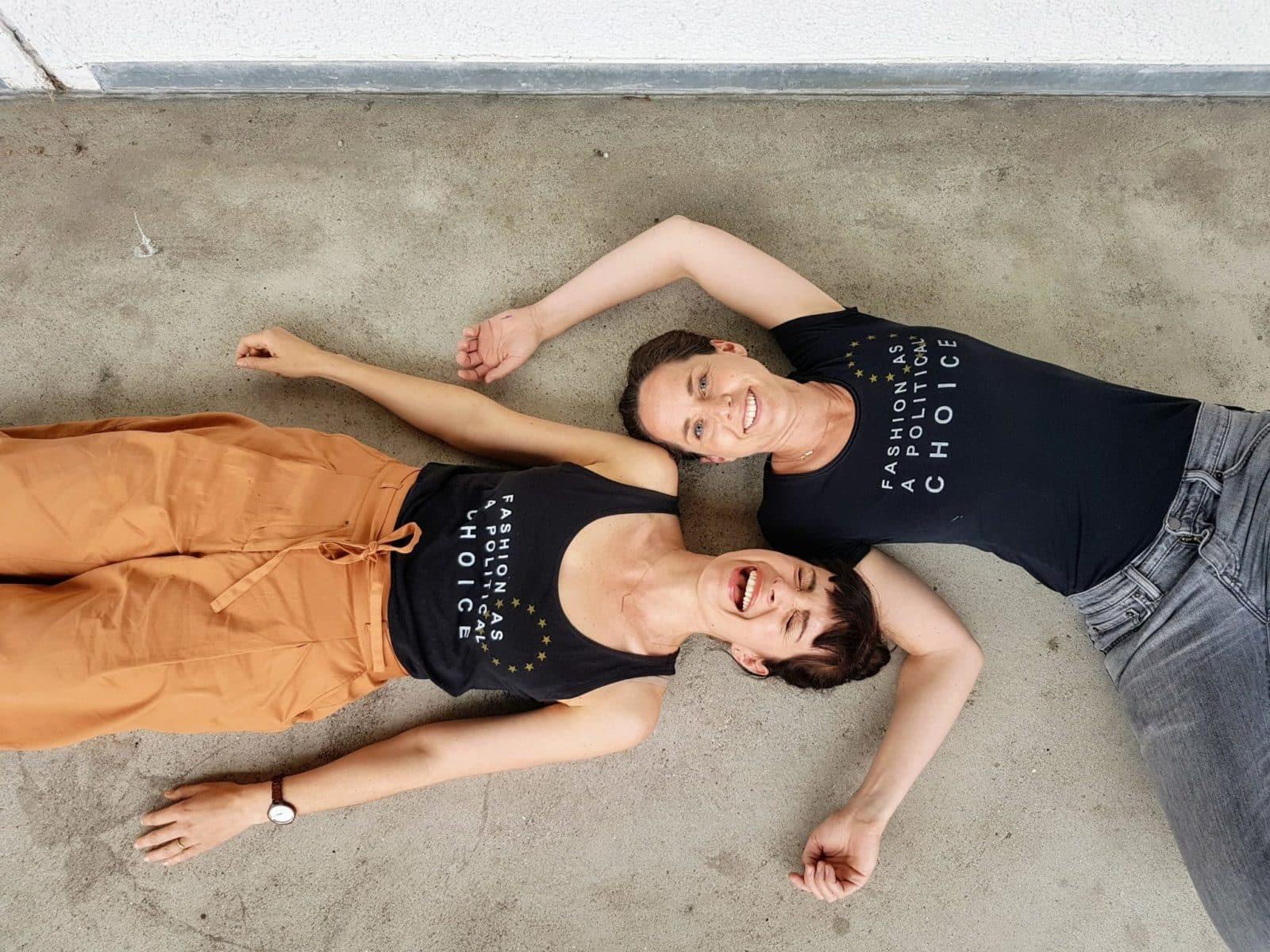 Europawahl Klimawandel geh wählen Fashion as a political choice