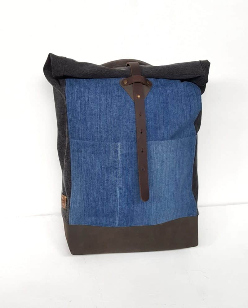Rucksack backpack Bridge&Tunnel Jeans Denim urban style
