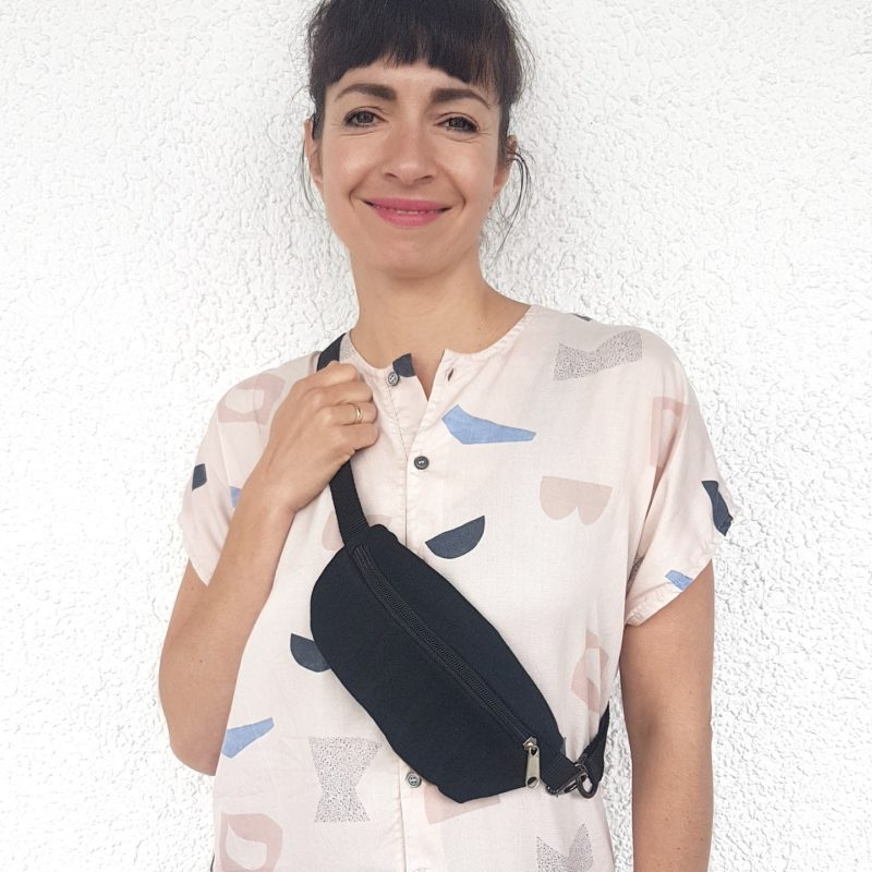 Bum Bag Hipbag Fanny Pack Bauchtasche festival Fair Fashion Upcycling Jeans Denim