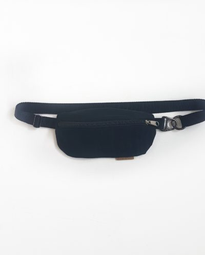 Hipbag klein Fanny Pack Bauchtasche festival Fair Fashion Upcycling Jeans Denim