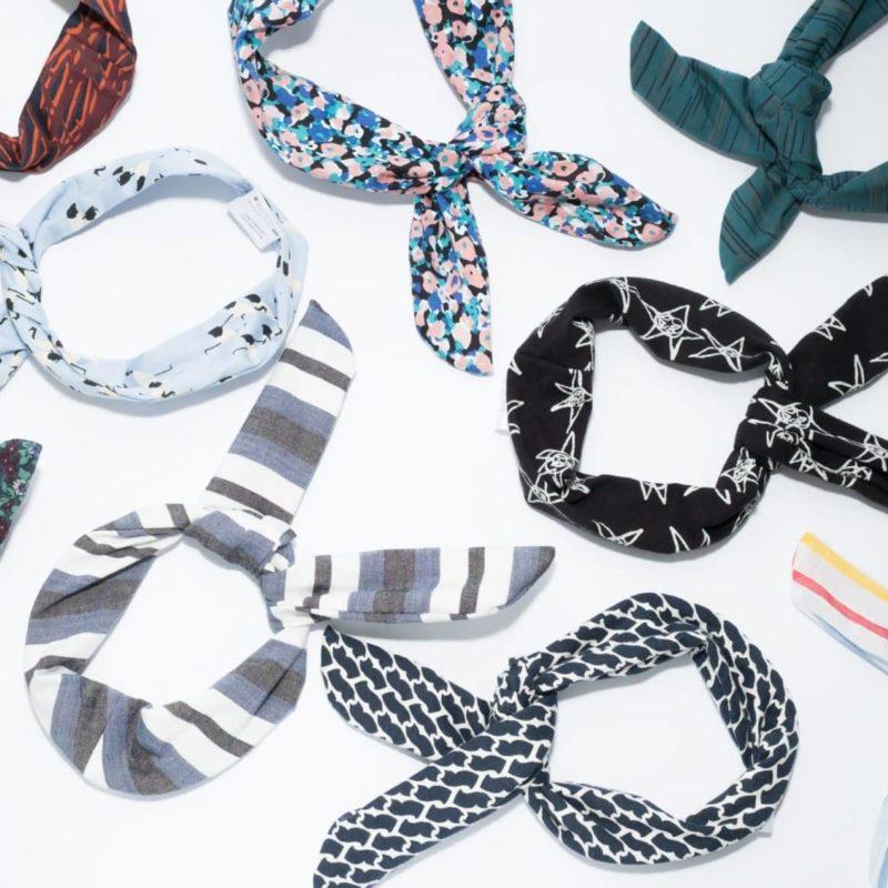 Avocadostore Upcycling Haarbänder bunt
