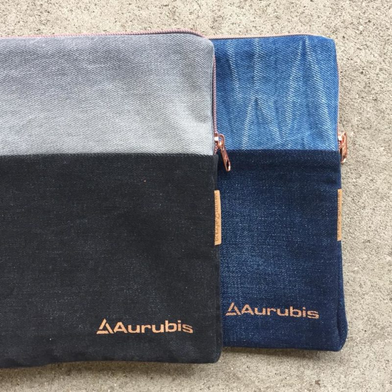 aurubis laptopsleeves jeans