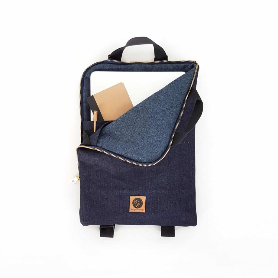 Laptoprucksack Rucksack Macbook Denim