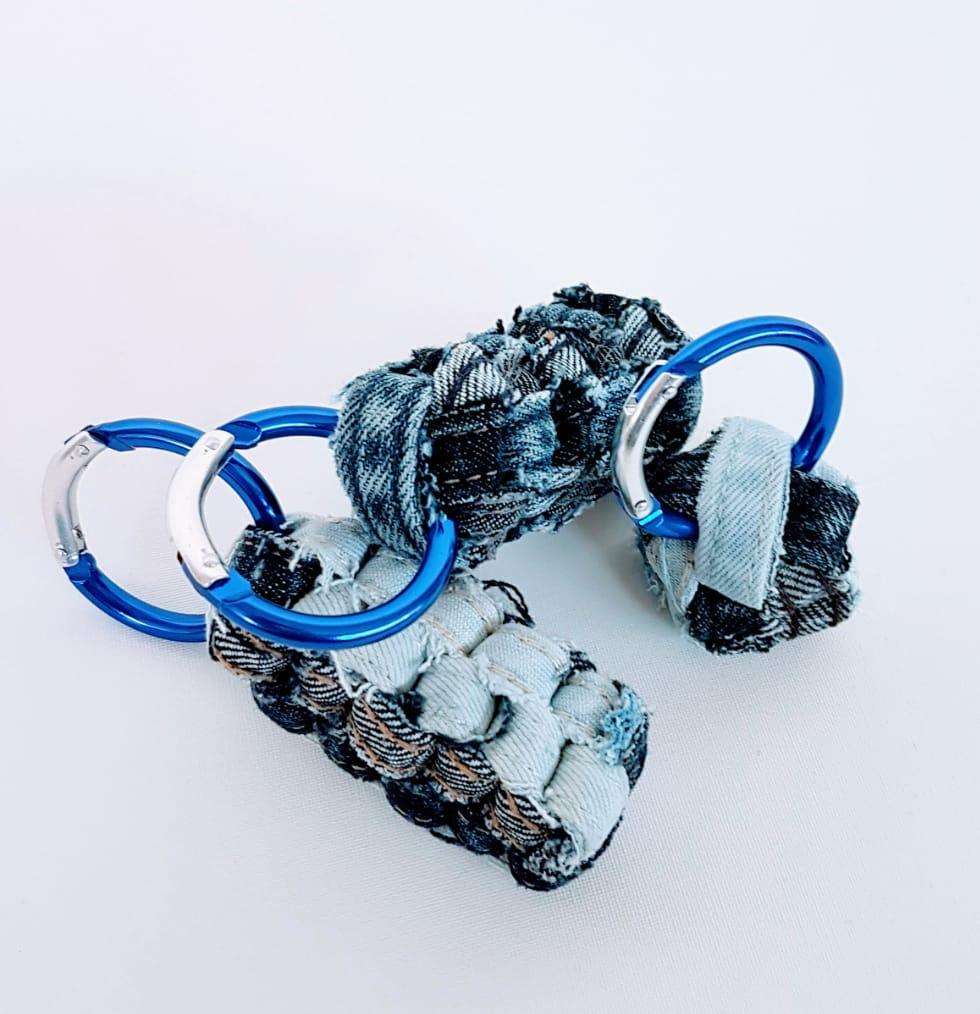 DIY Schlüsselanhänger JEans