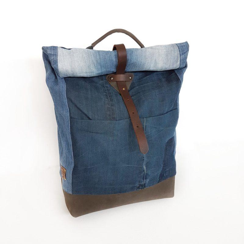 Rucksack backpack Bridge&Tunnel Jeans Denim urban style