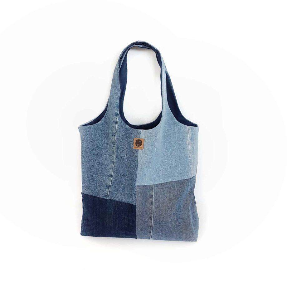 Beachbag City Shopper Totebag Denim Jeans