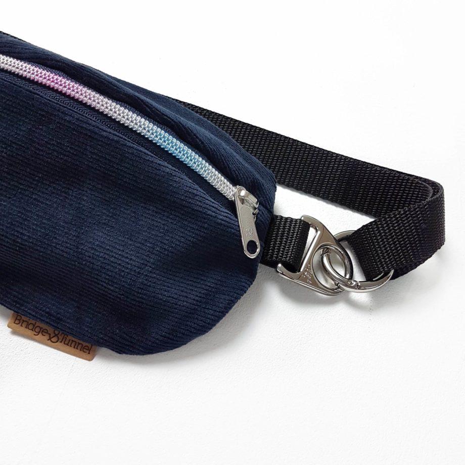 Bauchtasche Bumbag Jeans Hipbag Denim Cord