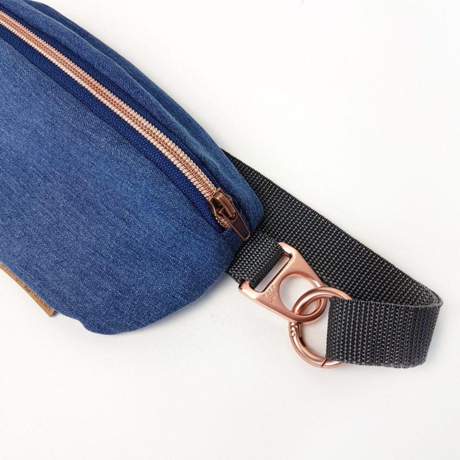 Bauchtasche Bumbag Jeans Hipbag Denim