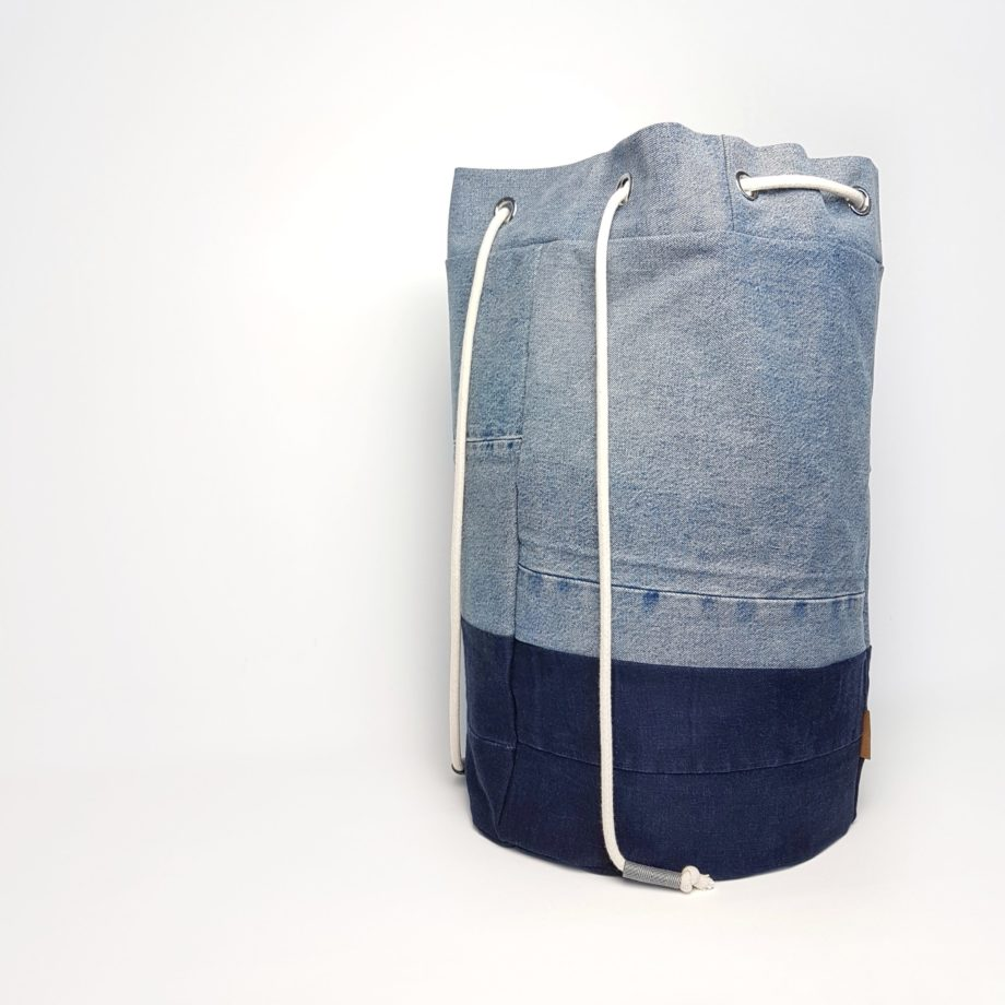 Jeans Denim Seesack Upcycling